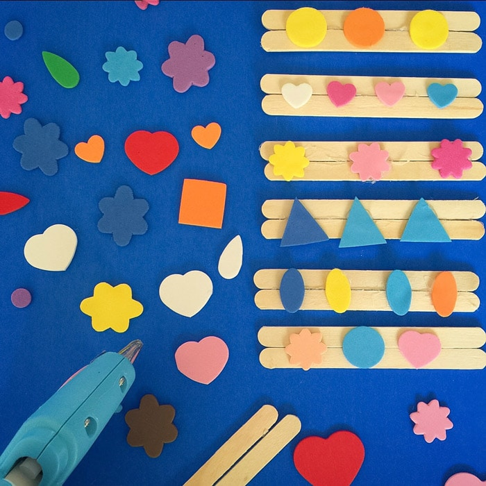 Ice Cream Stick Crafts For Kids: learn how to create your own stamps at home perfect for toddlers preschooler and kids of any ages!