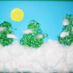 A Snowy Winter Scene