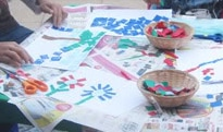 Tissue Paper Mosaics