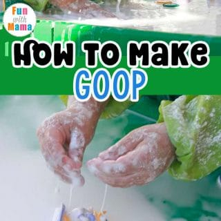 How To Make Goop With Cornstarch And Water