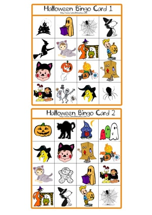 Printable Halloween Games And Activities 2010 - Fun with Mama