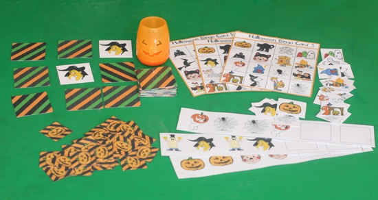 Printable Halloween Games And Activities 2010