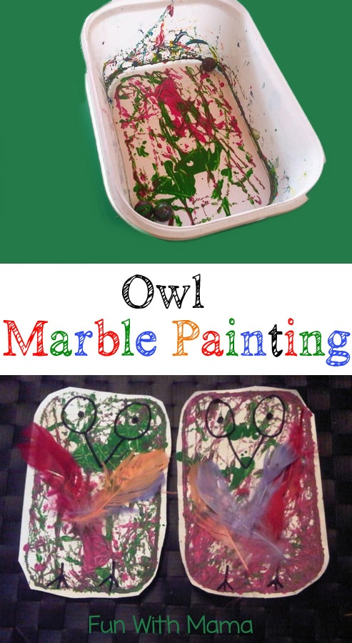 marble-painting-owl