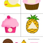 Cupcake Cut And Paste Printable Practice