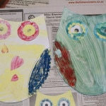 Printable Owl Painting Activity