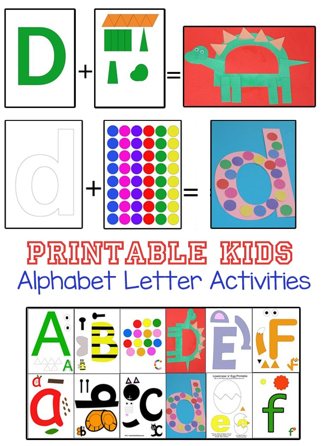 Abc Arts And Crafts For Toddlers