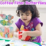 Butterfly Craft Coffee Filter Butterflies