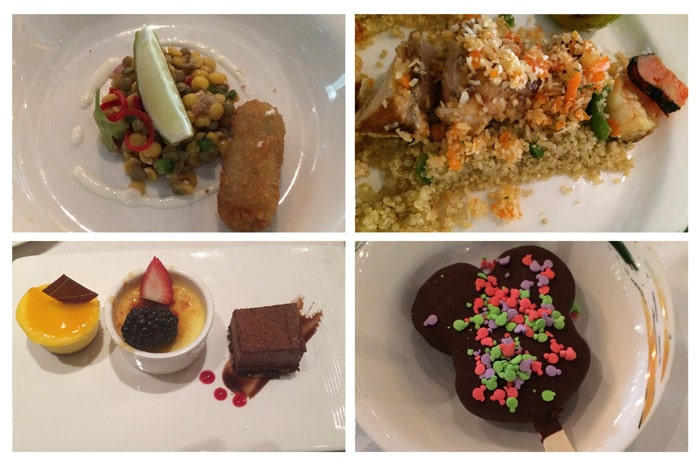 Disney cruise food review