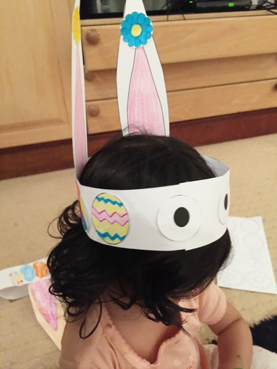 toddler bunny hat