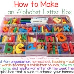 Build An Alphabet Letter Box For Your Kids