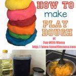 The BEST Playdough Recipe EVER