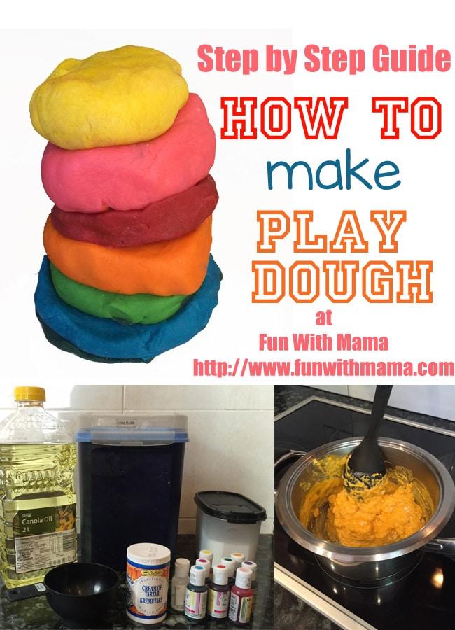 how to make playdough recipe