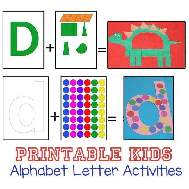 printable alphabet letter activities