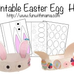 Printable Easter Egg And Bunny Hat