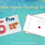 Printable Play Dough Mat Activity Fine Motor