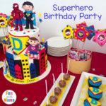 Captain D's Superhero Birthday Party