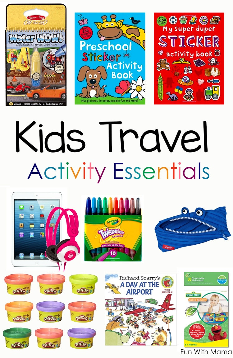 Car ride activities for toddlers
