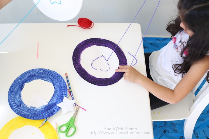 shapes themed heart activity that works fine motor skills for elementary and grade school kids