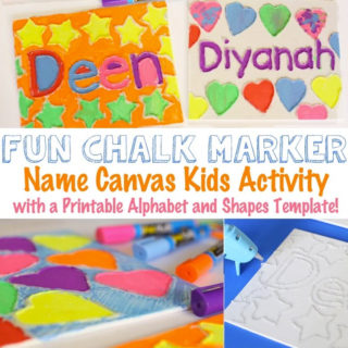 name-crafts-for-kids