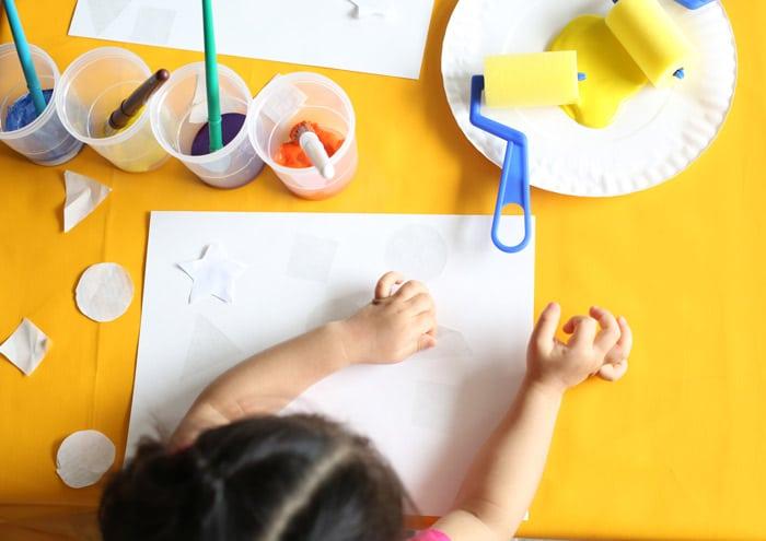 easy preschool shapes activities