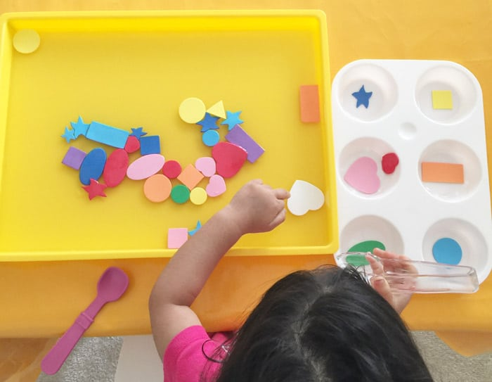 toddler shapes activities