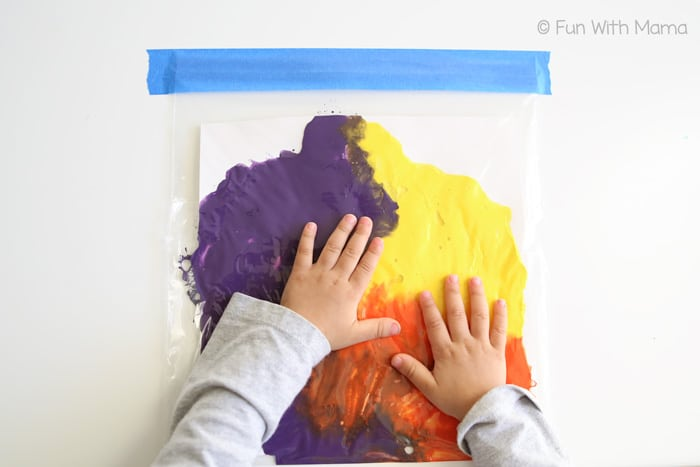Kids Mess Free Painting