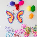 Butterfly Yarn Activity
