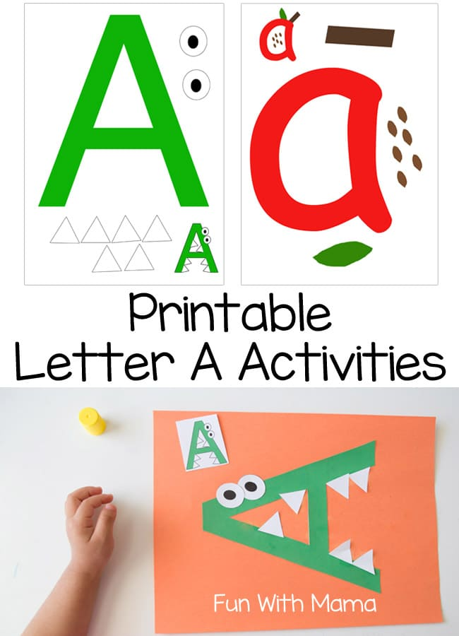 Printable Letter A Crafts And Activities. Printable. Printable Letter A At Mspartners.co