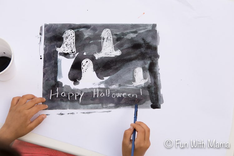 halloween art activity