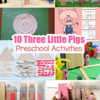 10 Three Little Pigs Preschool Activities