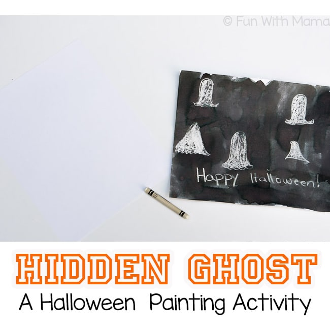 toddler halloween painting activity