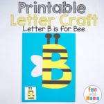 Free Letter B Crafts B is for Bee