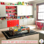 Kids Playroom Ideas and Toy Room Tips