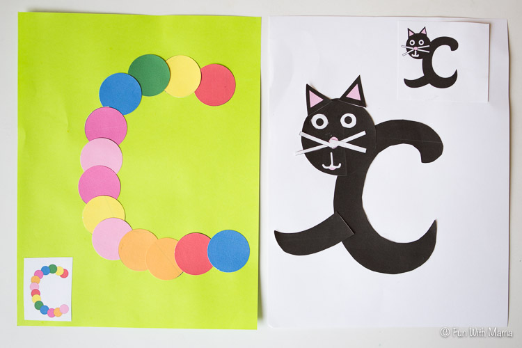 Printable Letter C Crafts  C Is For Cat
