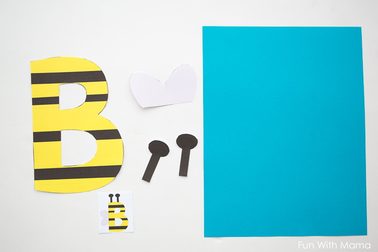 letter b for bee