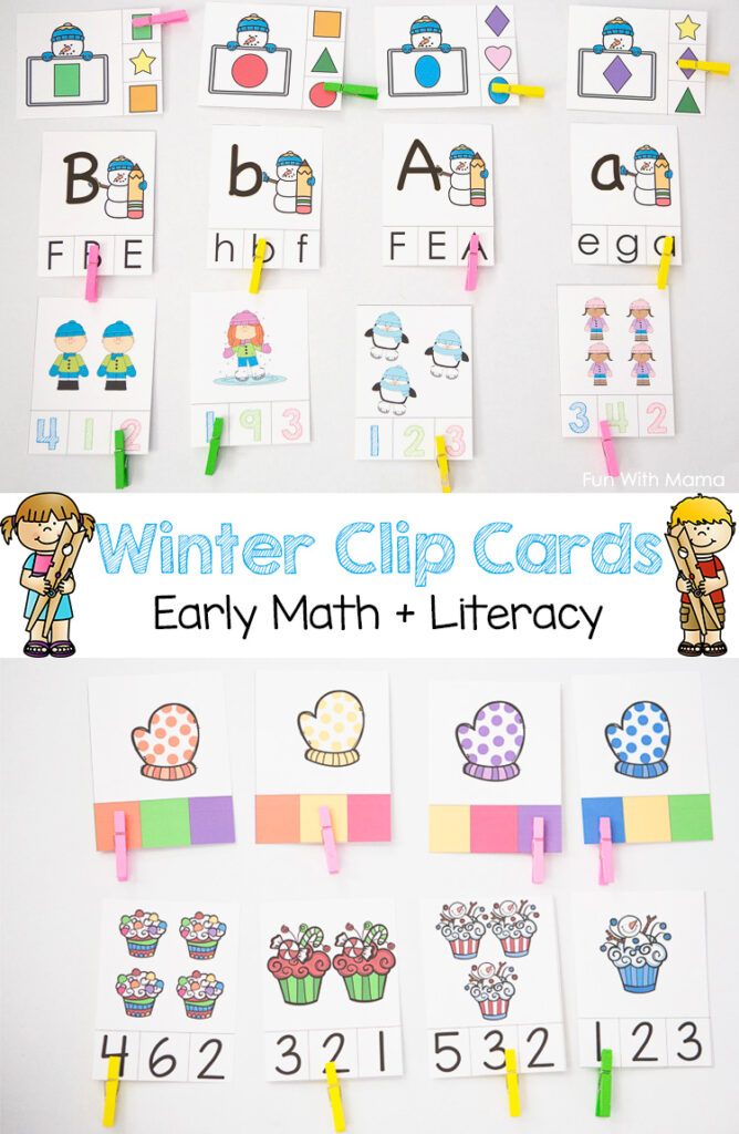 preschool-clip-cards