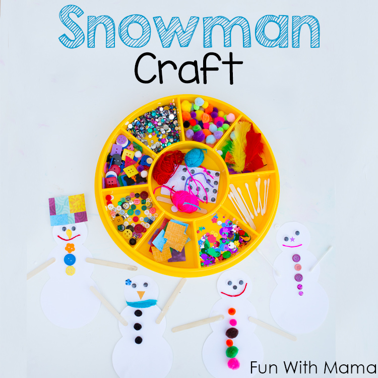 frozen craft activity