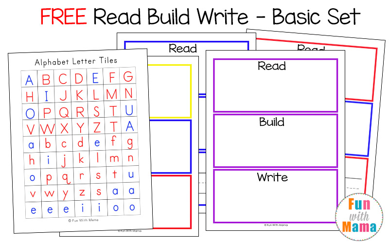 read build write mats say it build it write it