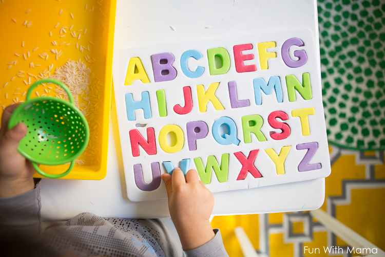 fun alphabet activity for kids