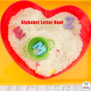 Alphabet Letters Hunt Game