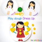 Playdough Dress Up Activity