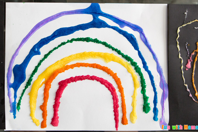 rainbow crafts for preschool