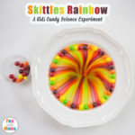 Easy Rainbow Skittles Science Experiment