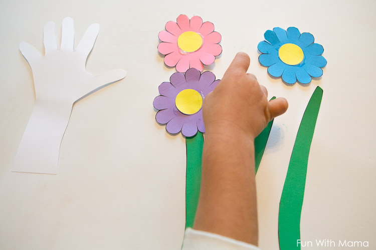 Paper Flowers Craft For Kids Fun With Mama