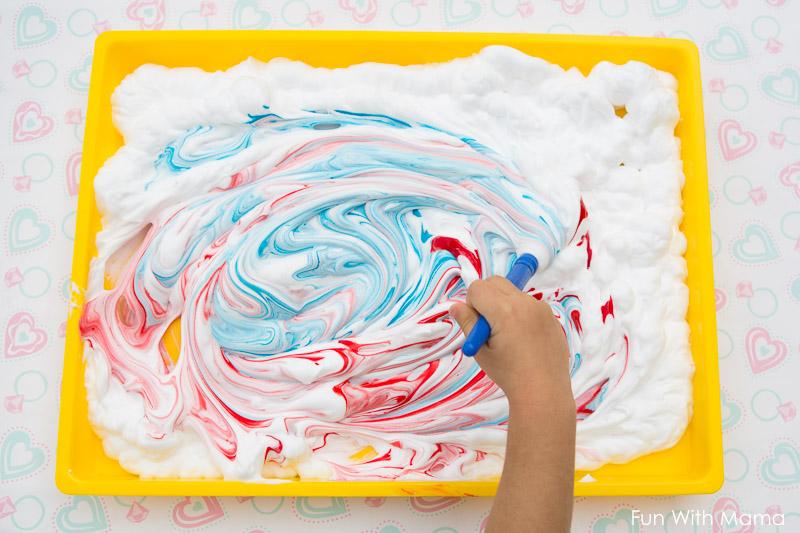 Benefits Of Finger Painting on Preschool Fingerpaint