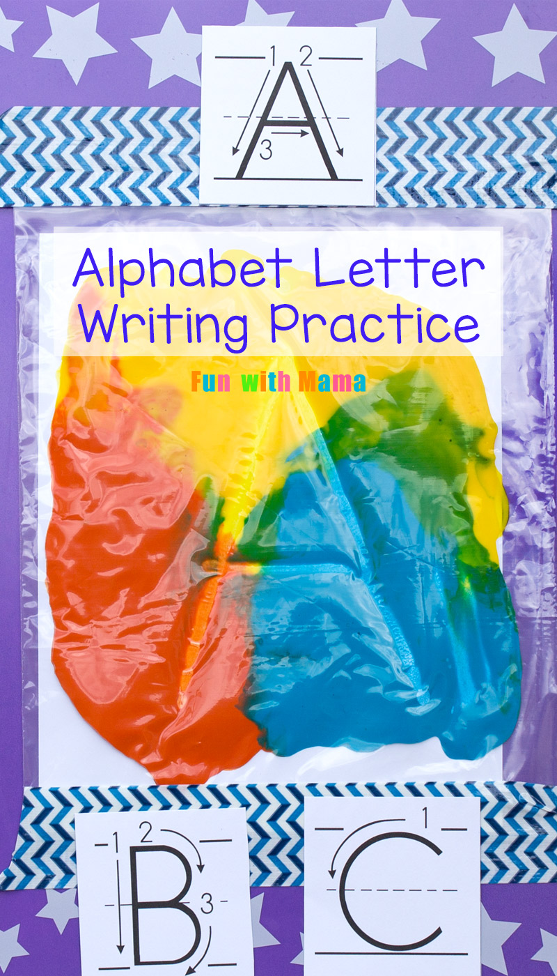 Alphabet Letter Formation Cards - Fun with Mama