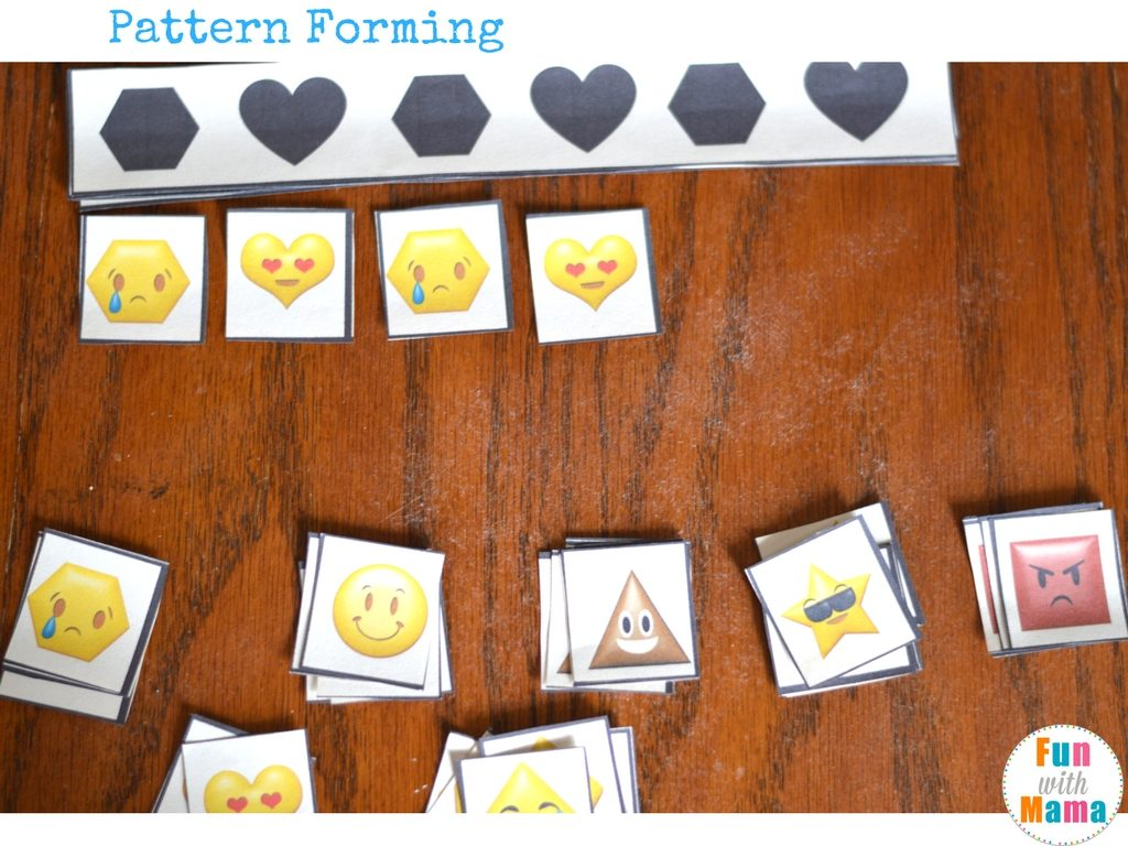shapes pattern worksheet