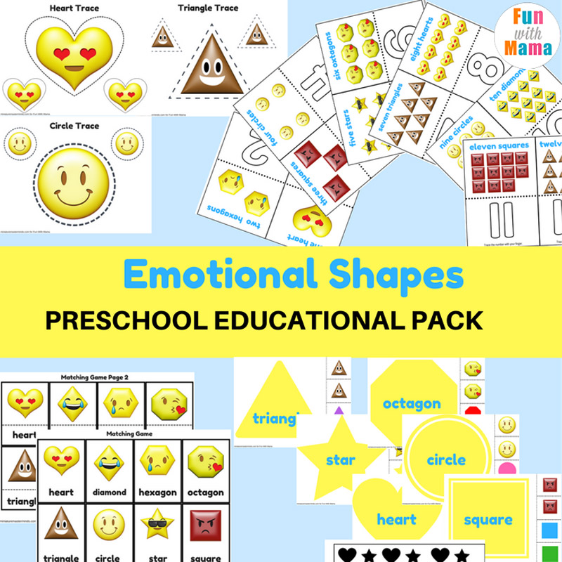 Feelings Activities Emotions Worksheets For Kids Fun With Mama - View Feelings And Emotions Worksheets For Kindergarten Pdf Images