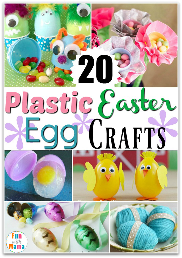Check Out These Fun Ways To Repurpose Those Eggs Into 20 Plastic Easter Crafts