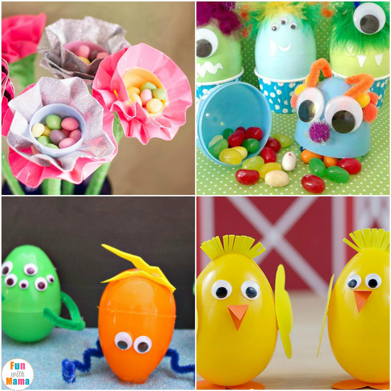 I Love How Adorable These Little Monster Easter Eggs Alien Egg Bunnies And Plastic Chicks Are My Kids Would Especially Getting To